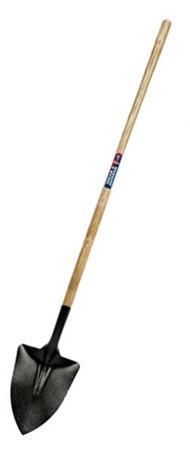 Long-handled shovel
