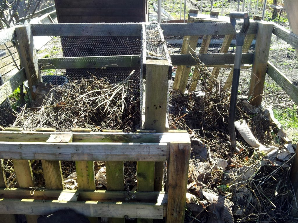 April 2016 - compost turning