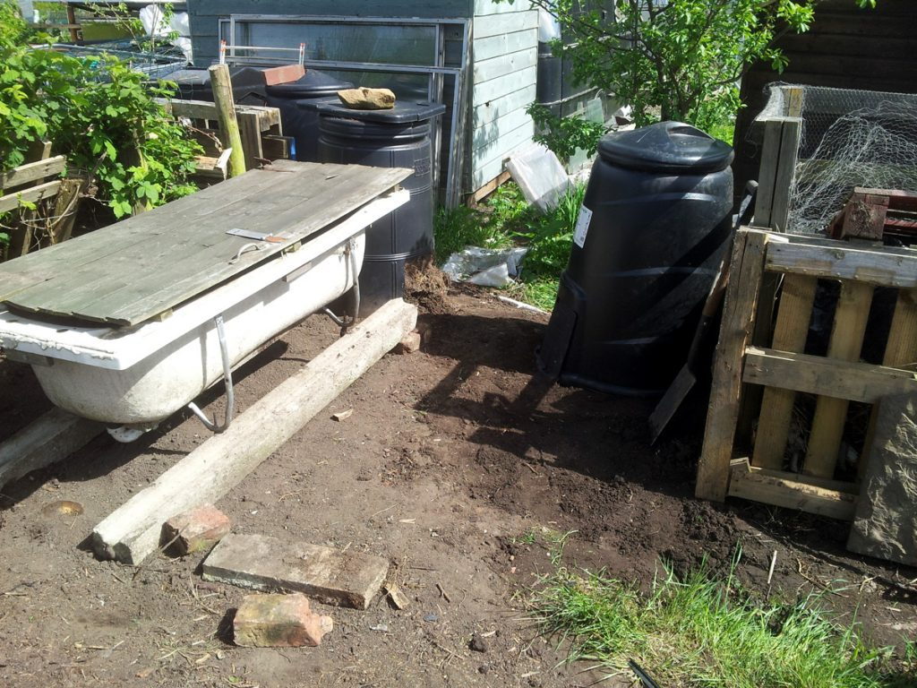 May 2016 New Compost Area