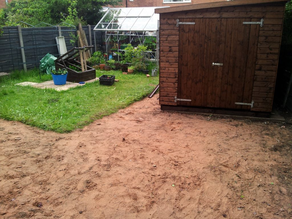 June 2016 New Shed