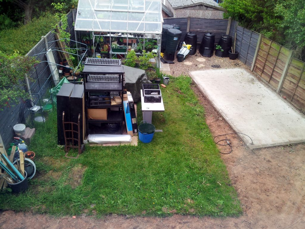 Cottage Garden Project update May 2016