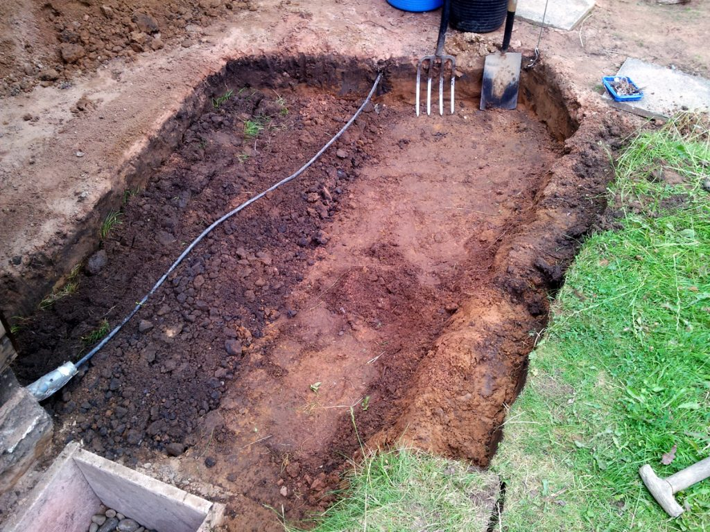 July 2016 - bastard trenching in action