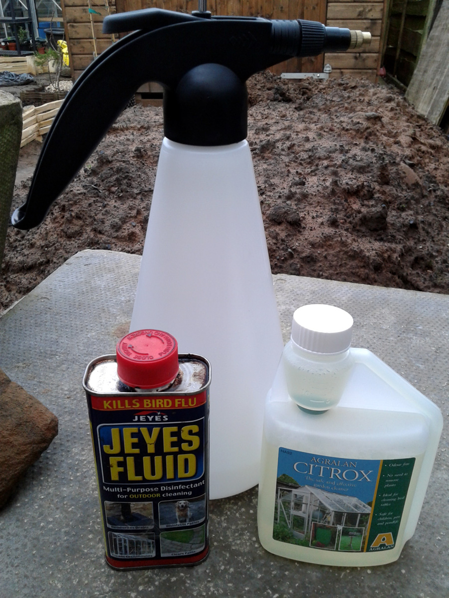 February 2017 Greenhouse cleaning solutions